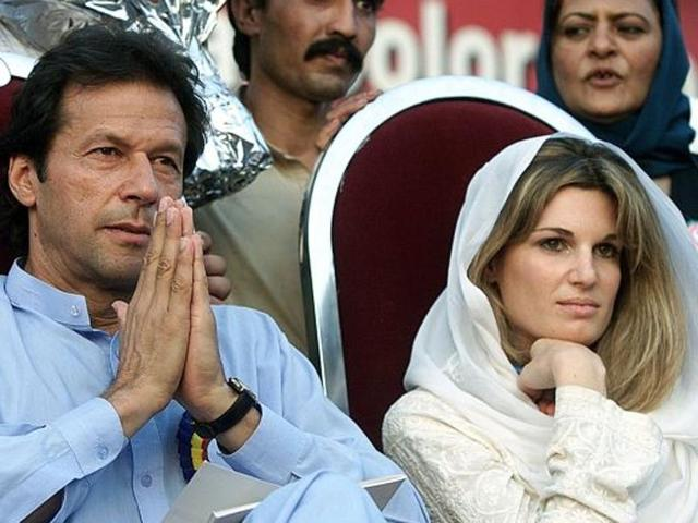 Imran Khan was married to English heiress Jemima Goldsmith (pictured above) from 1995 to 2004. His second marriage to British-Pakistani TV journalist Reham Khan in 2015 lasted just 10 months.