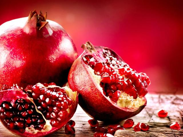 Pomegranate does not itself contain the 'miracle molecule', but rather its precursor. That molecule is converted into urolithin A by the microbes that inhabit the intestine.