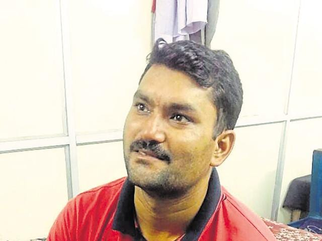Narendra Choudhary was detained in Kanpur  on Sunday and then brought to Delhi for questioning.