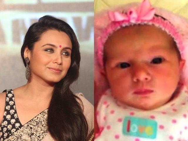 Rani Mukerji,Adira,Rani Mukerji baby photos