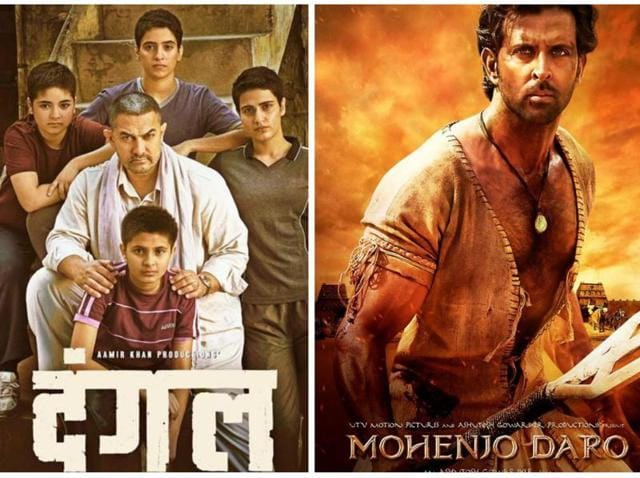 While Akshay and Hrithik will have a box-office clash with Rustom and Mohenjo Daro, Aamir's Dangal will see a Christmas release.