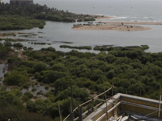 The move comes a month after Hindustan Times reported that environmentalists had alleged that a navy station was responsible for the destruction of over 400 mangrove trees at a 10-acre patch through debris dumping, diagonally opposite the INS Hamla buildin