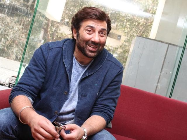 Actor Sunny Deol talks about his son Karan Deol's Bollywood debut, says he wasn't surprised by Karan's decision to join movies.(Zabeeh Afaque/HT Photo)