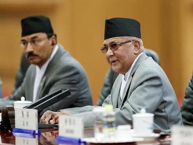 A letter from Communist Party of Nepal-Maoist Centre chairman Pushpa Kamal Dahal Prachanda over the move was sent to Nepal Prime Minister KP Sharma Oli on Tuesday.