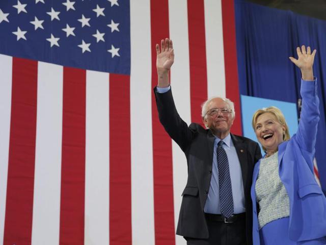 Bernie Sanders,Hillary Clinton,US presidential election