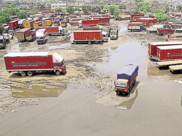 Truck drivers say stagnant water not only emanates foul smell, but is an open invitation to water-borne diseases.