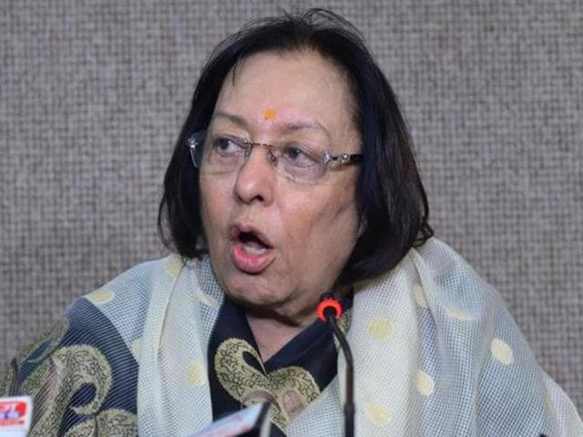 Minority affairs minister Najma Heptulla was earlier rumoured to lose her portfolio in the recent cabinet reshuffle.