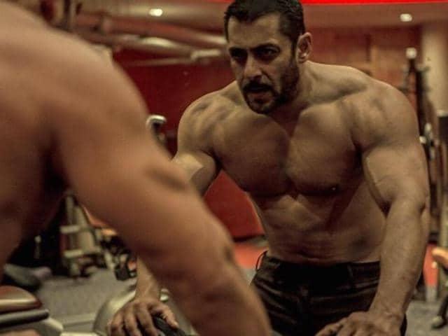 Salman plays a wrestler in Sultan.
