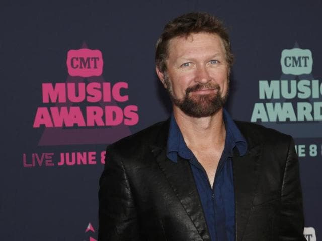 Craig Morgan's son, Jerry, was on a raft with a friend when they fell into the water.