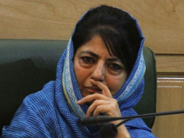 """In her first televised address since violence erupted in Kashmir four days back, Mufti said she was appealing to people as she herself being a parent could """"feel the pain"""" of losing a near and dear one."""
