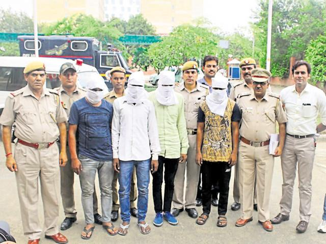 Ten days after the body of a 45-year-old man was found with two bullet marks in East Delhi's Krishna Nagar , the police arrested four persons for the murder. One of them wanted money to get married and settle down.