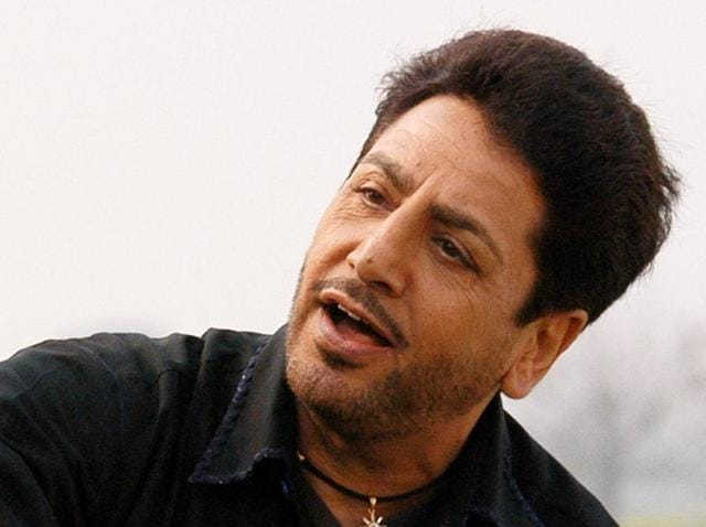 Punjabi singer and actor Gurdas Maan