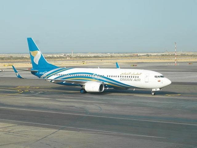 A bomb threat delayed the departure of a Muscat-bound Oman Air flight from the Trivandrum International Airport by around 90 minutes.