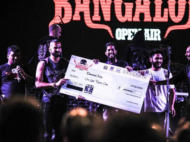The band won a cash prize of Rs 1 lakh and the opportunity to represent India at the world's biggest metal music festival, Germany Open Air in Wacken, Germany next month.
