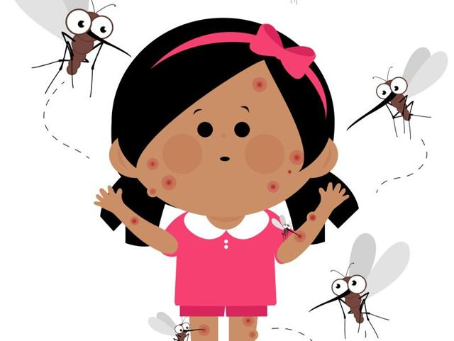 The symptoms of dengue start showing within five to six days after you're bitten by an infected mosquito.(Shutterstock)