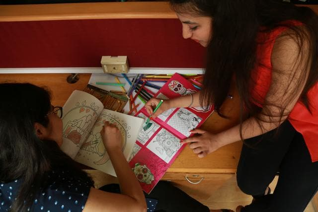 Adult Colouring Books,Devdutt Pattanaik,The Sita Colouring Book