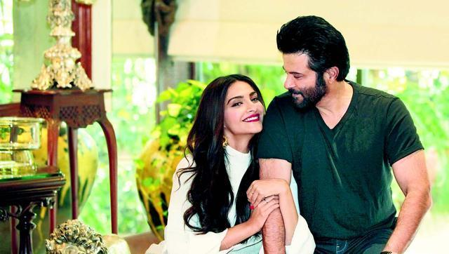 Anil Kapoor is happy to see the way his daughter Sonam deals with fame and hopes his son Harshvardhan is able to do the same way.