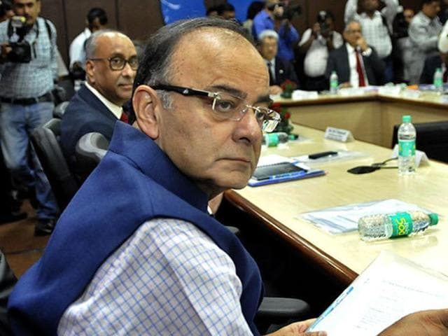 The Delhi high court has sought the reply of finance minister Arun Jaitley on CM Arvind Kejriwal's plea to stay the proceedings in a criminal defamation case against him.
