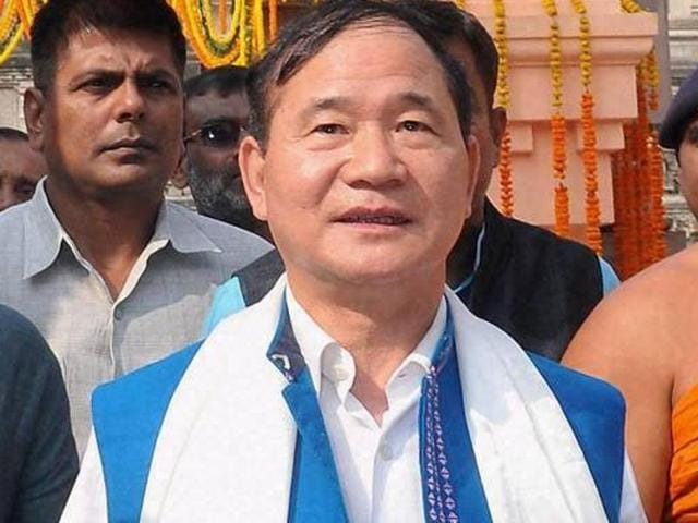 File photo of Nabam Tuki, who was reinstated as chief minister of Arunachal Pradesh on July 13, 2016, following the SC quashing all decisions of the governor which had precipitated his fall in December, 2015.