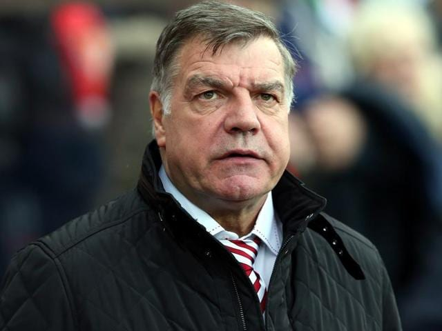 A file photo of Sunderland's manager Sam Allardyce during the English Premier League.