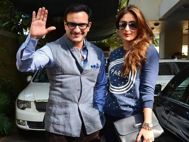 There's buzz that actor-couple Kareena Kapoor Khan and Saif Ali Khan are expecting a baby boy.
