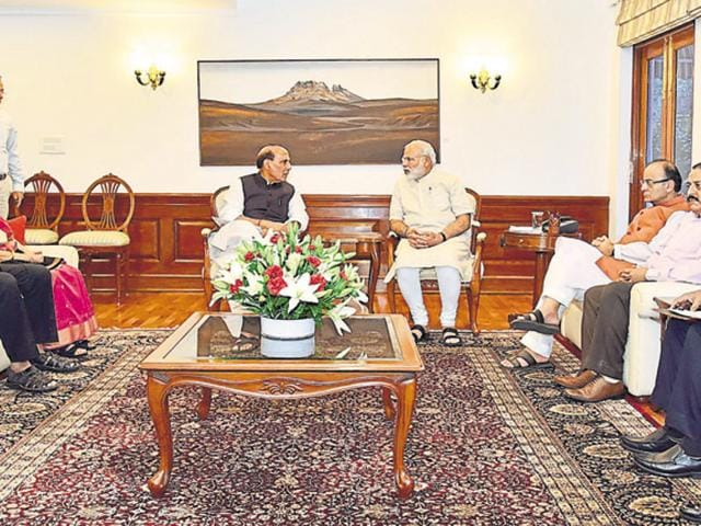 Prime Minister Narendra Modi held a meeting to take stock of the unrest in the state. Political observers blame PDP's alliance with BJP for the deteriorating law and order situation in the Valley.