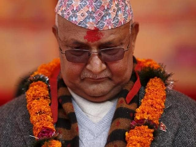 Nepal PM KP Sharma Oli will address the House on Sunday before the voting for the no-trust-motion tabled against him by Maoists and Nepali Congress takes place.