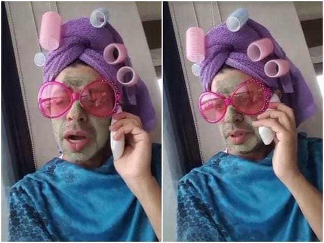 Pammi Aunty is your everyday Punjabi aunty-next-door with that old problem: A daughter-in-law who has made her life hell.