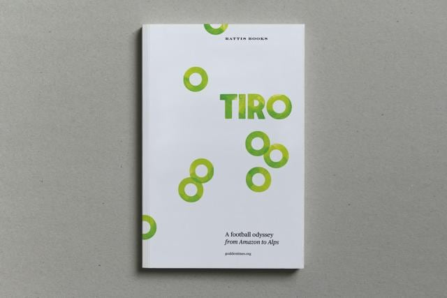 Published by Rattis Books, London, 'Tiro, A football odyssey from Amazon to Alps' is a compilation of 33 essays in 260 pages packed with matter in small print.
