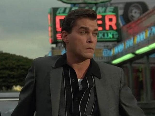 Ray Liotta in a still from Goodfellas, the Martin Scorsese film that shot him into fame.