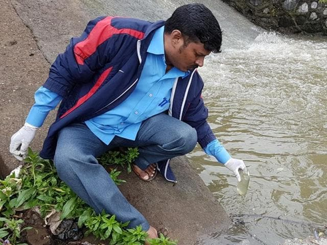 PAWS,water quality,Powai lake