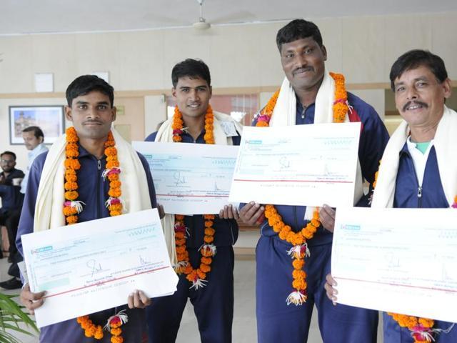 Bhopal rain rescue team