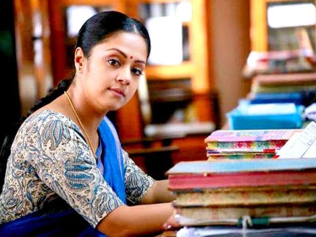Jyothika returned to the silver screen after eight years with 36 Vayadhinile, which was directed by Rosshan Andrews.