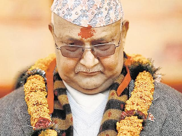 Nepal politics,KP Olil,Prachanda