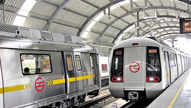 Separate lanes for pedestrians and cyclists, corridors for non-motorised vehicles and space for bus stops --  Delhi metro is taking steps to deal with haphazard traffic movement outside stations.