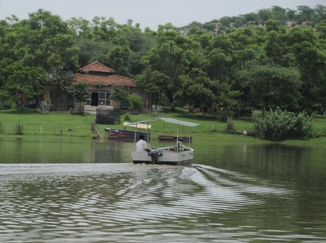 The lake has shrunk to a 300-metre pond because of silt and lack of rainfall in the region. For the first time forest department has launched a Rs 38-lakh makeover project, which will help rejuvenate the lake.