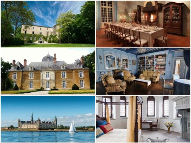 Airbnb,Airbnb Castles,Airbnb Europe