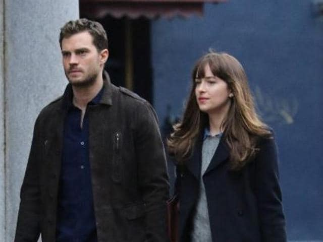 The film, starring Dakota Johnson and Jamie Dornan, had been under production in the French Riviera for the past few weeks.