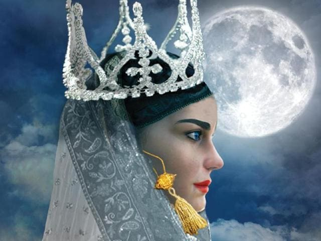 Cover of the book The Last Queen of Kashmir.