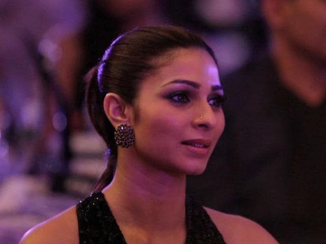 Actor Tanishaa Mukherji, who recently finished shooting social activist Anna Hazare's biopic, filmed for the film at his hometown.