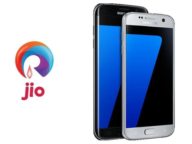 Samsung,Reliance Jio,India