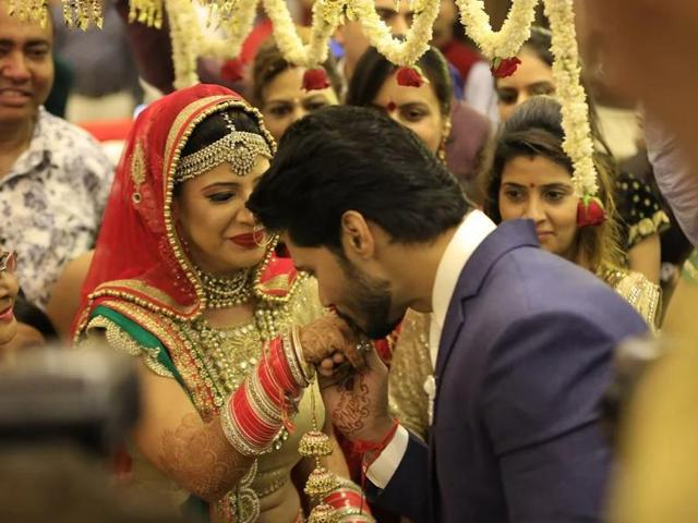 Sambhavna Seth,Avinash Dwivedi,Wedding