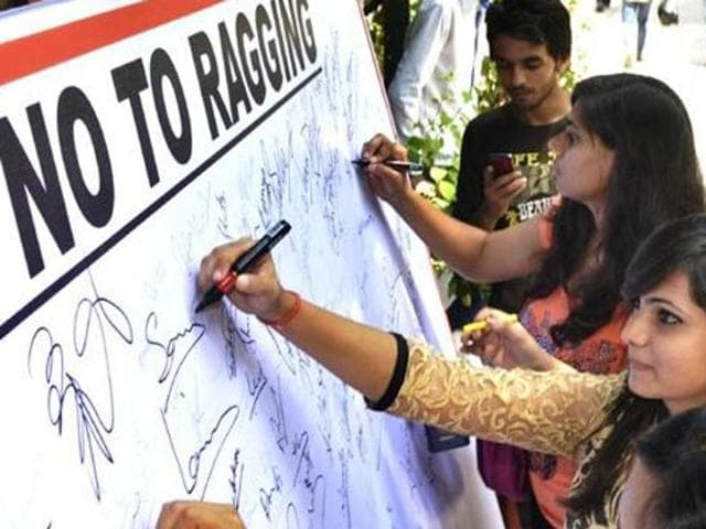 In a letter to the state home minister, the girl has urged the state government to cancel accreditation of all those schools where cases of ragging have been reported.
