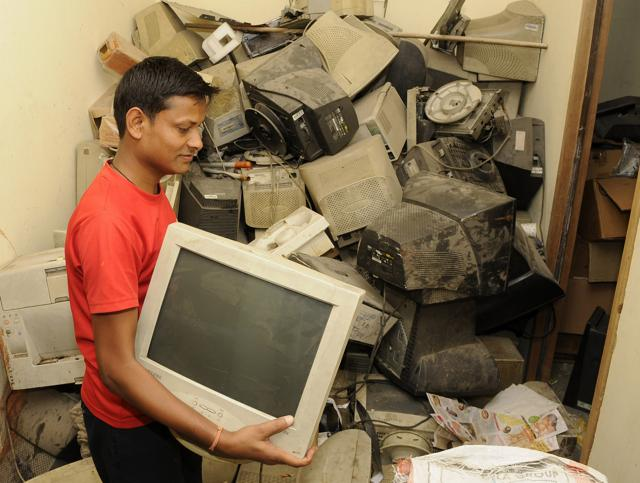 Recycling and disposal of e-waste involves risk to workers.