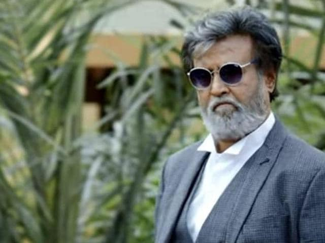 Actor Rajinikanth in a still from Kabali, directed by Pa Ranjith.