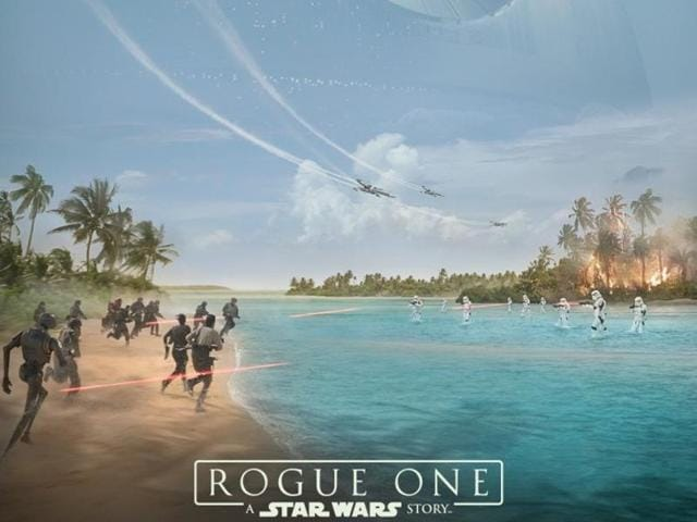 Disney released a three-minute reel online on Friday of behind-the-scenes Rogue One footage that featured action, explosions, green screen sets, new creatures and Stormtroopers.
