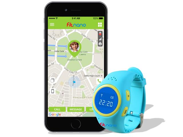 Children can notify parents in case of emergency with the 'SOS' button on Kidfit