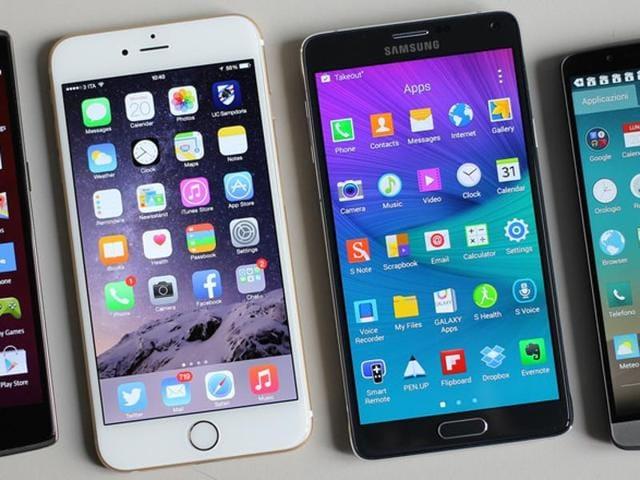 Samsung,Apple,iPhone
