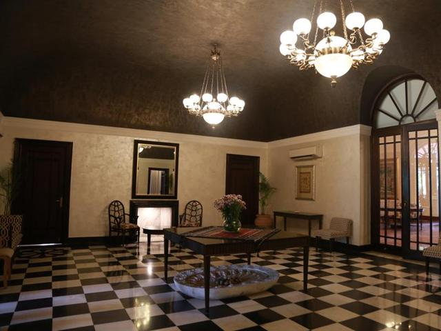 The interiors of Bikaner House have been refurbished and the property is now a commercial hub.