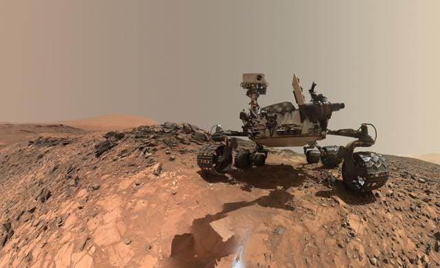 The Mars 2020 rover will investigate a region of Mars where the ancient environment may have been favourable for microbial life, probing the Martian rocks for evidence of past life